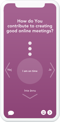 How do you contribute to good online meetings when working remotely ENG