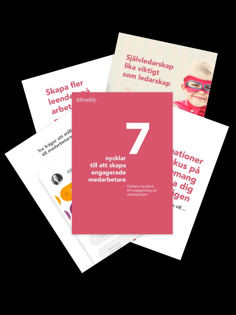 Chefens handbok till engagemang på arbetsplatsen