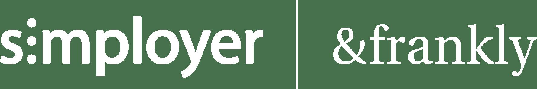 Simployer &frankly logo_white@3x